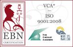 VCA - ISO 9001:2008